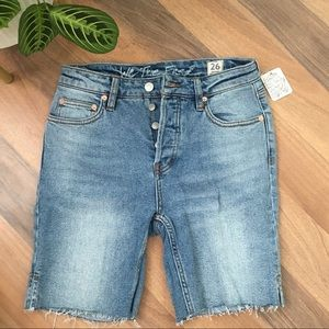 Free People Denim Shorts NWT!